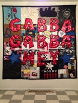 Gabba Gabba Hey (Collaborative Textile Art) 2015